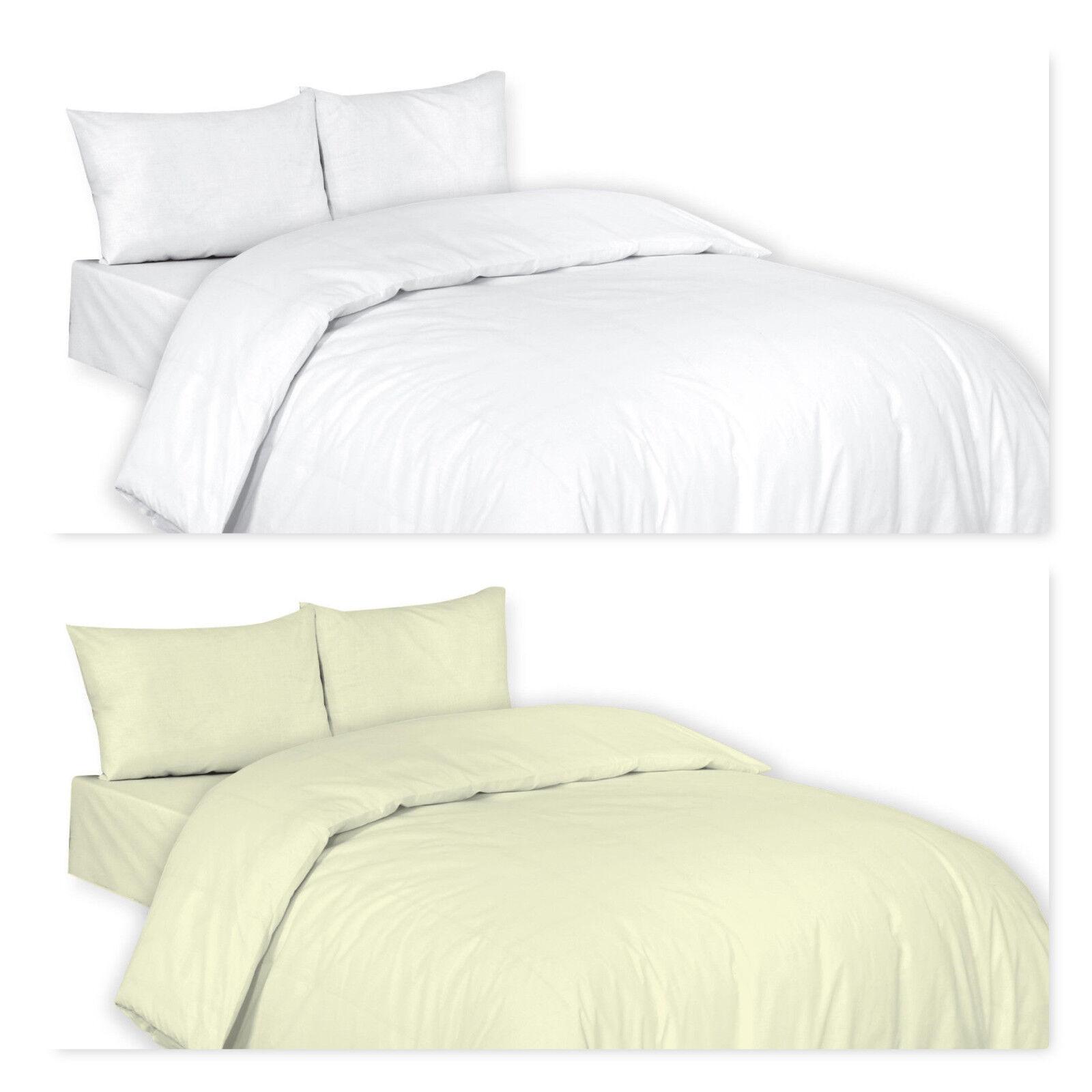 Luxury TC800 100% Egyptian Cotton Duvet Quilt Cover Bedding Set Best Quality