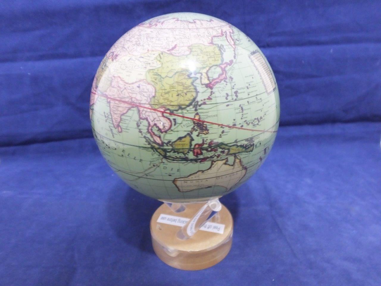 MOVA mapeo Antiguo verde 4.5 pulgadas globo de movimiento.
