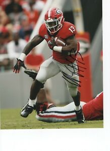 separation shoes dd03a d7de9 Details about ELIJAH HOLYFIELD GEORGIA BULLDOGS SIGNED 8X10 PHOTO W/COA #1