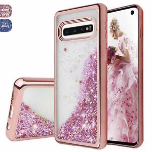 For Samsung Galaxy S10 Plus S10e Chrome Glitter Liquid Bling Phone Case Cover Ebay