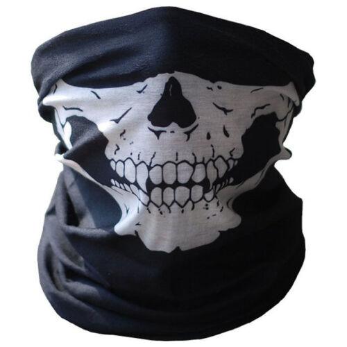 mas Colores en tienda  #331 Ghost Black Pañuelos Bufanda//Chal Calavera