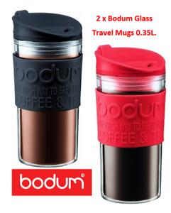 Redamp; About Black Bodum Mugs 12oz0 35l Travel Acrylic Tough Pack Offer} Details {twin vm0wON8n