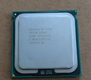 Intel Xeon X5405 Quad Core 2.0Ghz SLBBP CPU Processor - Lot of 4