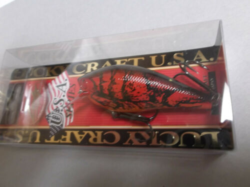 Hard to Find Lucky Craft Fat BDS 3,Square Bill,TO Craw