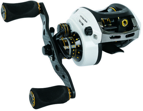 Ardent Apex Grand Baitcast Reel White+gold 6.5 1 Right Hand