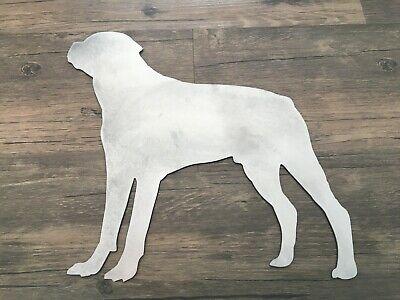 "/"" ROTTWEILER RD /"" METAL STREET SIGN GARAGE YARD GUARD DOG FAMILY PET HUMANE"