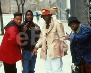 Juice-1992-Khalil-Kain-Tupac-Shakur-Omar-Epps-Jermaine-Hopkins-10x8-Photo
