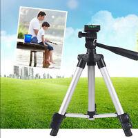 Universal Professional Aluminum Telescopic Camera Tripod Stand Holder LN