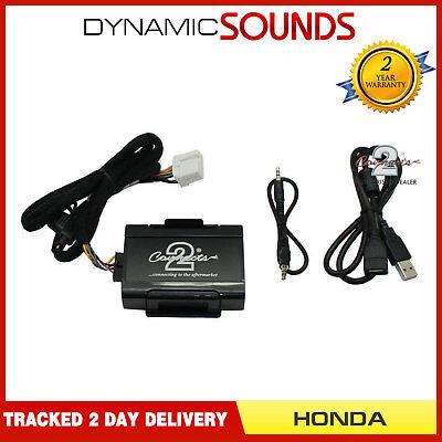 Connects2 CTVHOX002 Honda Accord Civic S2000 OEM Aux Input Adaptor Interface Jazz