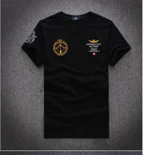 t-shirt modello Aeronautica Militare 1//2 manica,5 colori,dalla taglia M alla 2XL