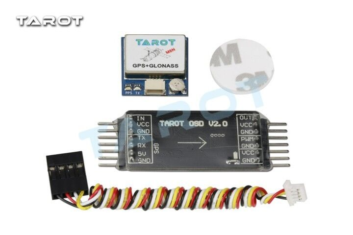 Tared Mini OSD Image Overlay   GPS System for Drone Quadcopter - TL300L2