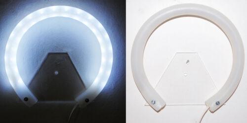 Coroncina Per Esterno Luminosa-AUREOLA Stellario LED Luci Bianche  Misure Varie