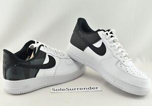 8672ca74e Nike Air Force 1 '07 LV8 - CHOOSE SIZE - AV8363-100 Black White JDI ...