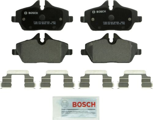 Disc Brake Pad Set-Quietcast Pads with Hardware Front Bosch BP1308