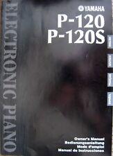 Yamaha p140, portable digital piano, includes manual &   reverb.