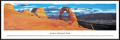 Utah Framed Panorama Poster Picture Arches National Park Delicate Arch Moab