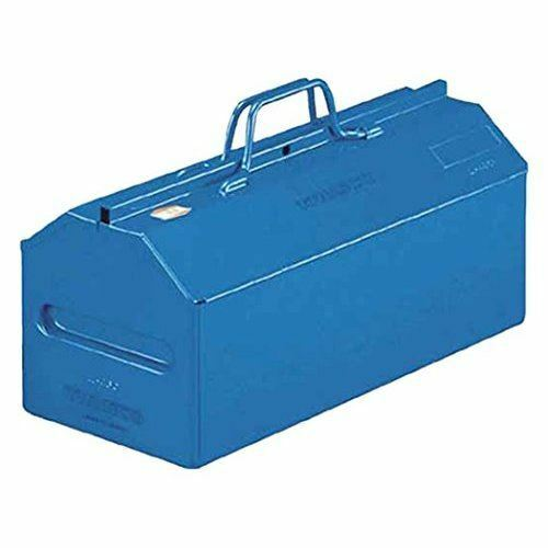 TRUSCO Mountain type Tool Box Casement type L530B blueeeeeee W533 x D201 x H260mm
