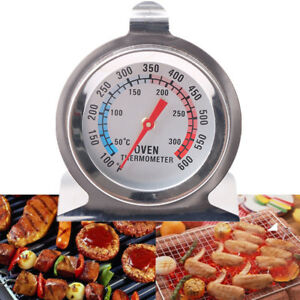 Stainless-Steel-Oven-Cooker-Probe-Thermometer-Gauge-Stand-Up-Cooking-BBQ-Meat