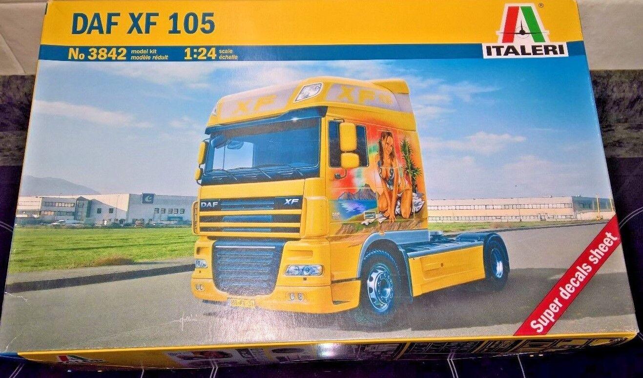 Camion DAF XF 105 4x2 Nuevo Italeri 3842 1 24 Kit