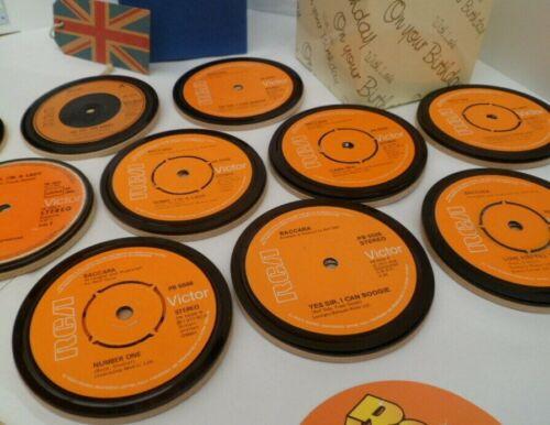 Band * Nouveau boissons Coaster Original Vinyl Record BACCARA