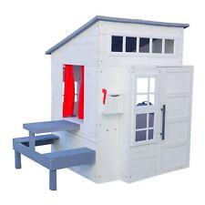 Modern Outdoor Playhouse - White by KidKraft