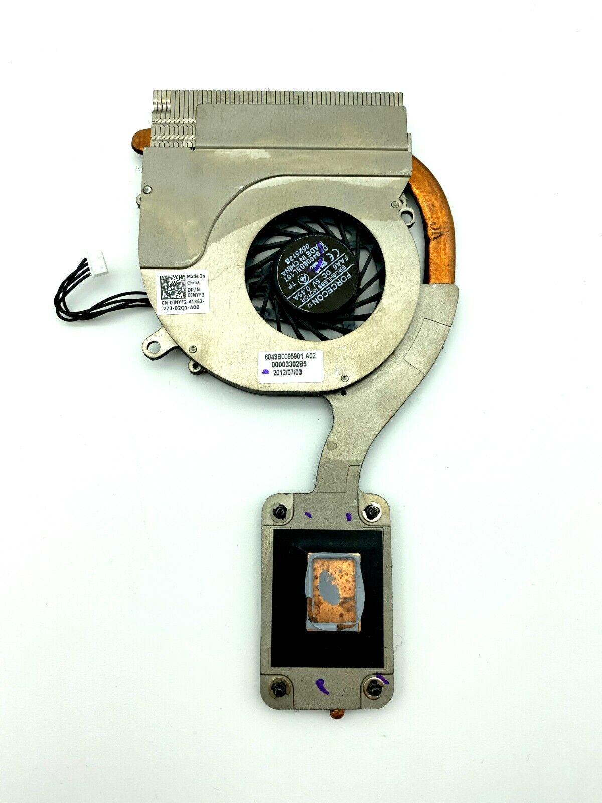 Original For Dell Latitude E6220 Cooling Fan with  Heatsink  DP//N 0JNYF2  JNYF2