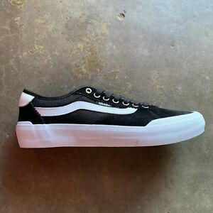 b805b0c4ce03e2 VANS CHIMA PRO 2 SUEDE CANVAS BLACK WHITE SIZE 7-12 --FAST SHIPPING ...