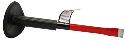 Flachmeißel Handmeißel Meißel mit Handschutz 25 x 300 mm Steinmeißel Maurer