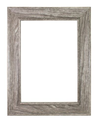 Photo Frame Poster frame SC Grey Wood Grain and Teak Shabby Chic Picture Frame