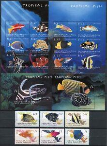 Grenada-Grenadinen-2000-Fische-Fishes-Poissons-Pesci-3091-3110-Bl-460-461-MNH