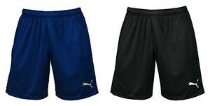 ad9b3a1f0 Puma Men LIGA Core Shorts Pants Training Black Navy Running GYM Pant ...