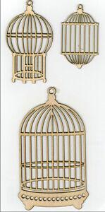 Kaiser-Craft-Wood-Flourishes-Bird-Cages-Shapes-NEW-FL302-D
