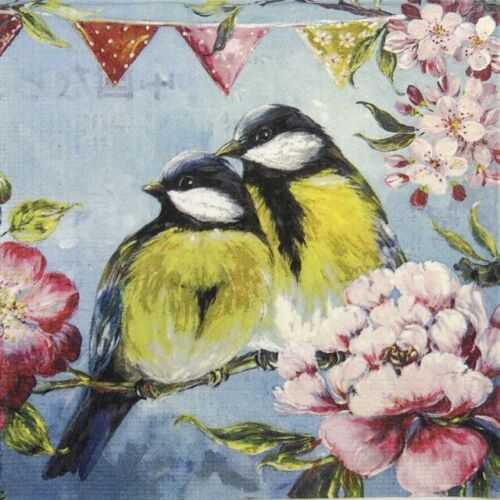 Sophie Adde 4x Paper Napkins for Decoupage Craft and Party Printemps
