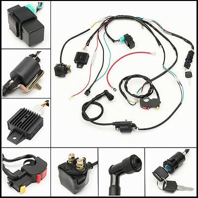50cc-125cc CDI Wire Harness Stator Assembly Wiring Chinese ...