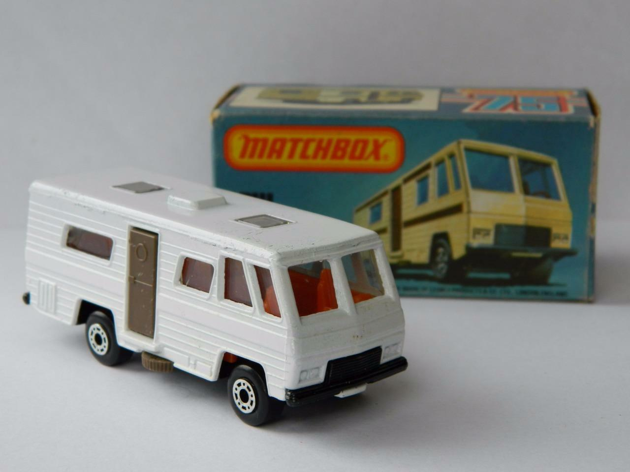 VINTAGE MATCHBOX LESNEY SUPERFAST MOBILE HOME VN MINT IN ORIGINAL L BOX 1980