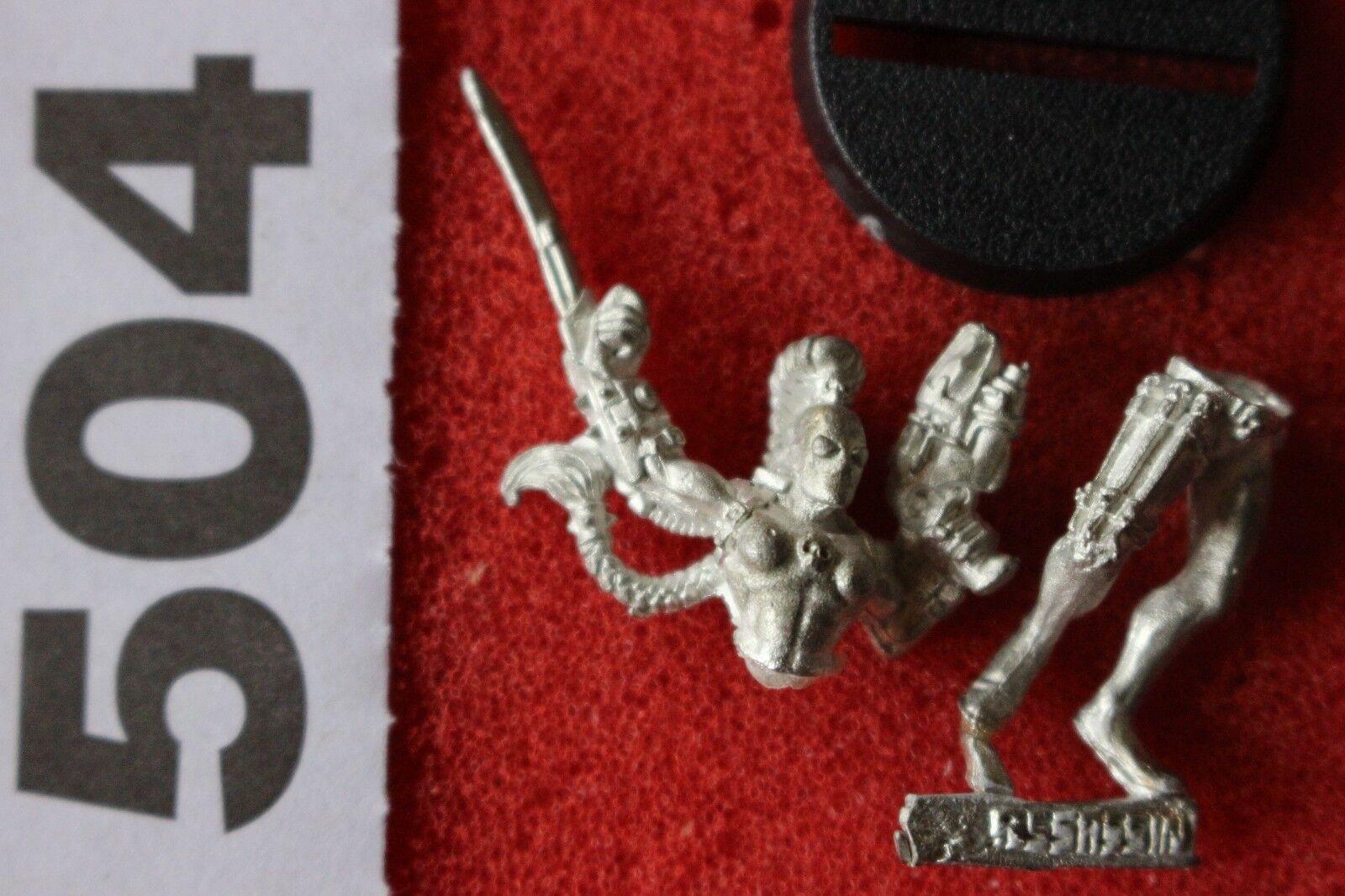 Games Workshop Warhammer 40k Callidus Assassin Imperial Agents Metal GW New Mint
