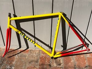 ORTELLI  steel frame  made in italy, vintage 1987