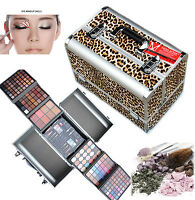 Miss Rose Interchangeable Eyeshadow Makeup Aluminium Professional Cosmetic Case