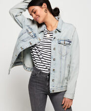 Superdry Womens Denim Long Line Jacket