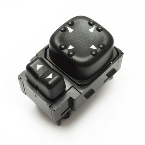 Power Mirror Switch 2-Button Front Left Replaces 5045085//19259975 For Chevrolet