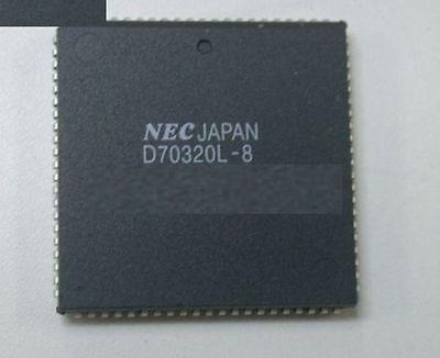 1PCS NEC D70320L-8V25 D70320L 16//8 Bit Single-Chip MCU PLCC84