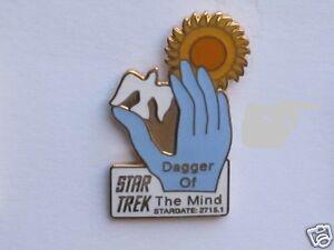 Star Trek Dagger of The Mind Original Series Episode Pin Badge STPIN7911