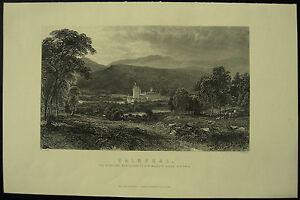 Balmoral-Highland-Residence-Of-Queen-Victoria-c-1885-Engraving-Print
