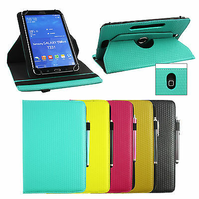 Universal Premium (7-8 Inch) 360 Degree Rotating Padded Stand Wallet Case