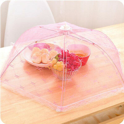 Gauze Mesh Food Covers Meal Table Anti Mosquito Gadgets Random Color