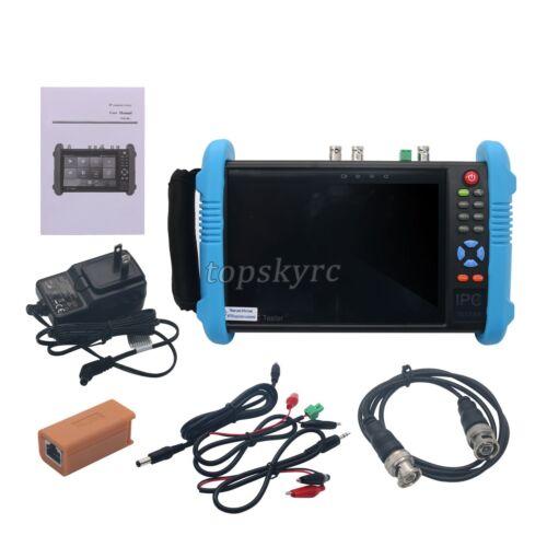 "IPC9800Plus ADHS 7/"" IP CCTV Tester Monitor IP Camera Tester ONVIF Wifi POE 4K"