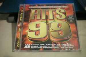 HITS 99 DOUBLE CD VGC 40 of the biggest hits of the year.