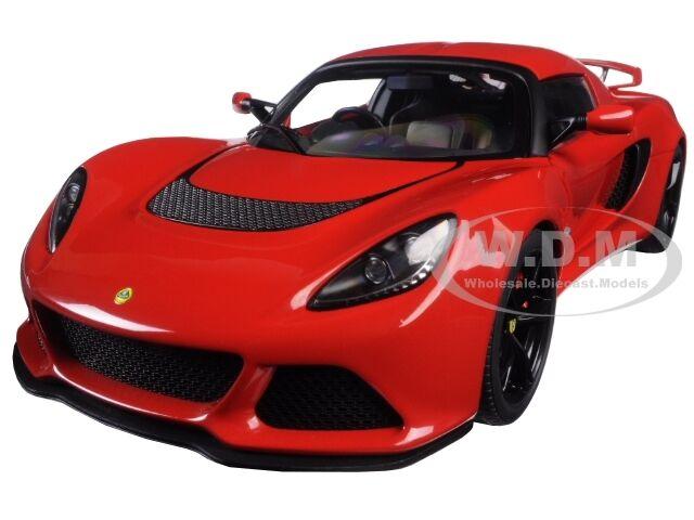 LOTUS EXIGE S RED 1 18 MODEL CAR BY AUTOART 75381