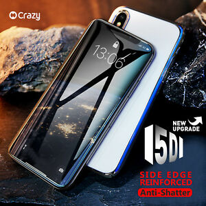 CRAZY-5D-Full-Cover-Curved-Tempered-Glass-Screen-Protector-for-iPhone-7-8-Plus-X