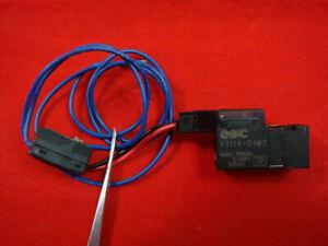 1pcs Used SMC Solenoid Valve VKF332V-5G-01   eBay